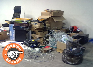 London Office Clearance by Rubbish Begone