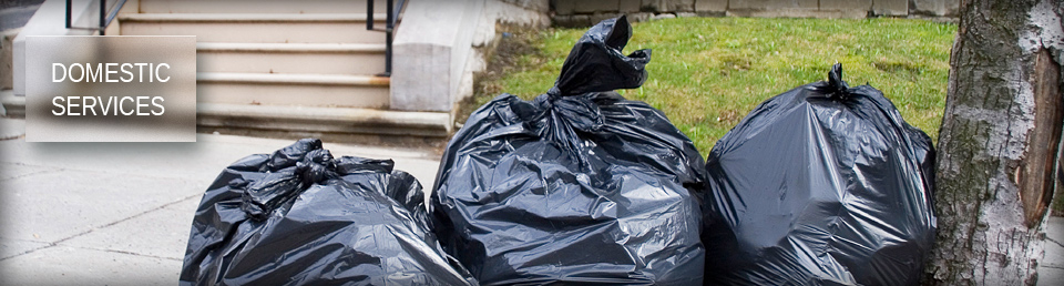 Picture of garbage bags