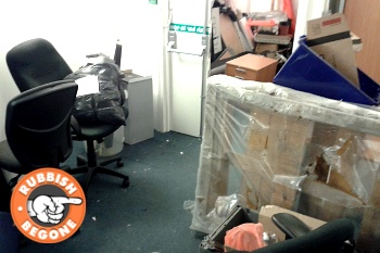 Office Clearance by Rubbish Begone