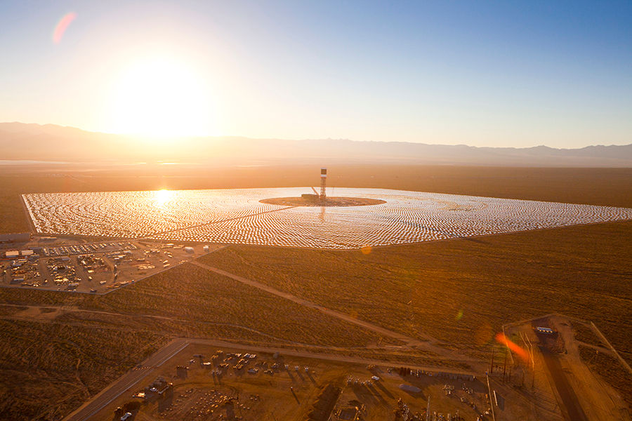 The Largest Solar Plant Mojave Desert Rubbish Begone