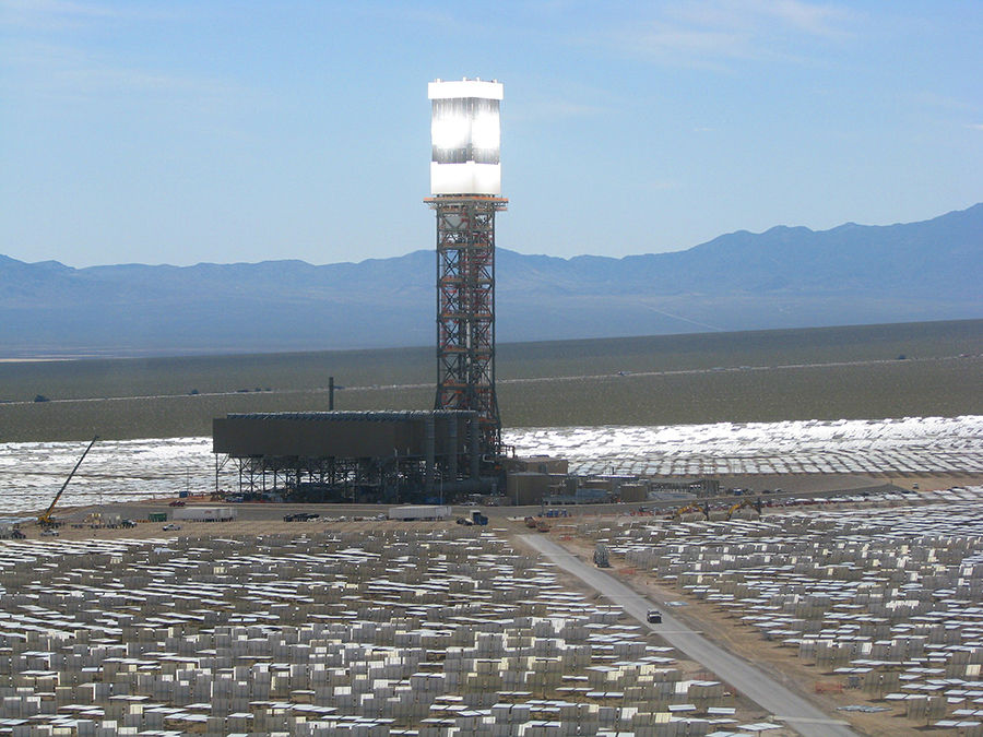 Steam Tower Ivanpah