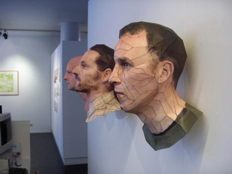 Recycled Paper Faces