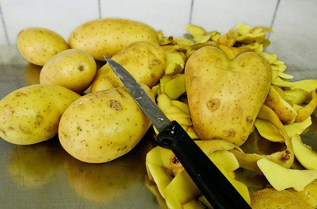 Food Waste Potatoes