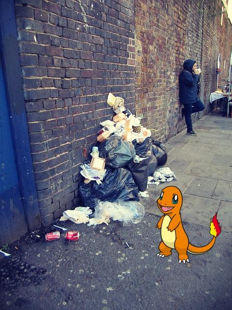 Pokemon Go Green Fights Pollution