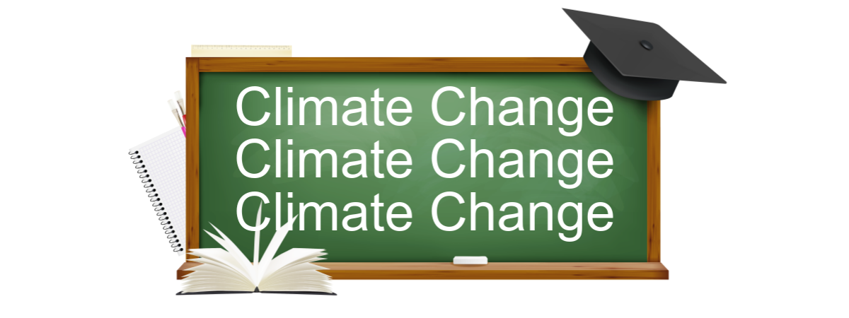 Educate everyone at home for Climate Change